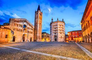 Autókölcsönzés Olaszország, Parmában