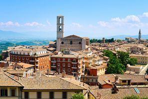 Autókölcsönzés Olaszország, Perugiában