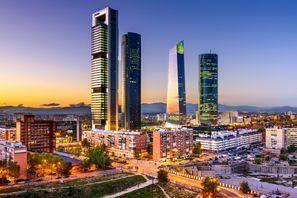 Autókölcsönzés Spanyolország, Madridban
